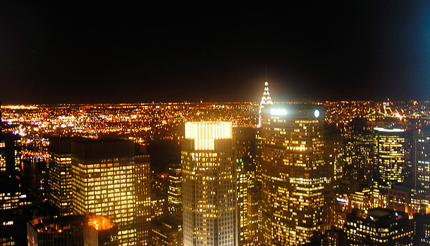 New York City - Night Cityscape