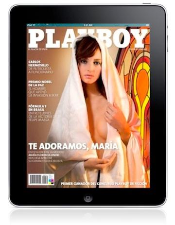 iPad Playboy