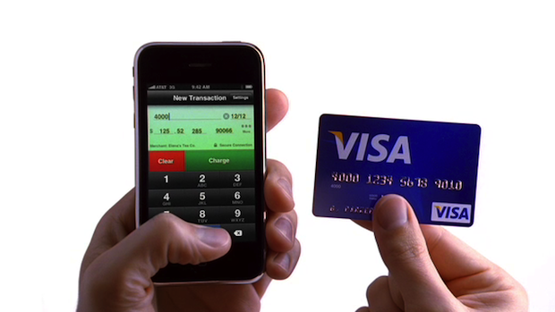 Credit Card Terminal iPhone app