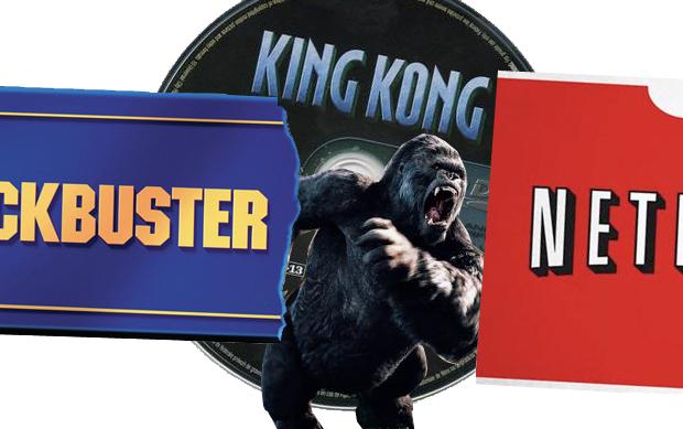 King Kong Blockuster Netflix
