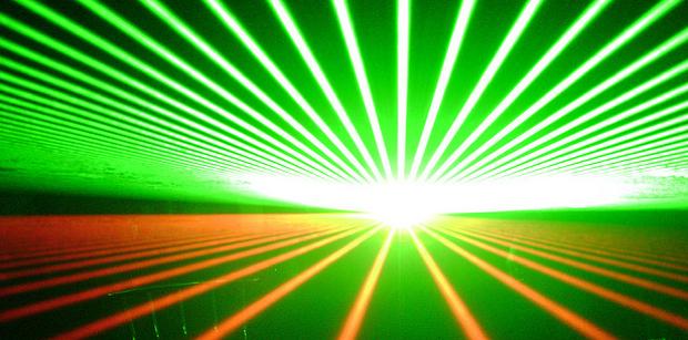 laser solar map