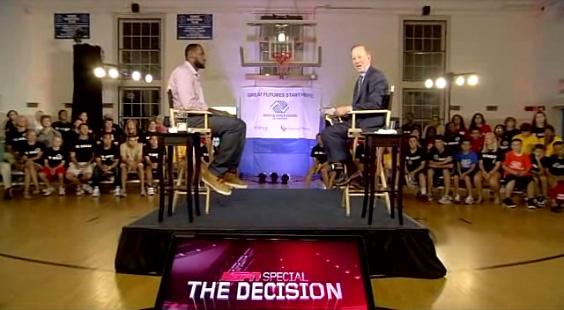 LeBron James on ESPN