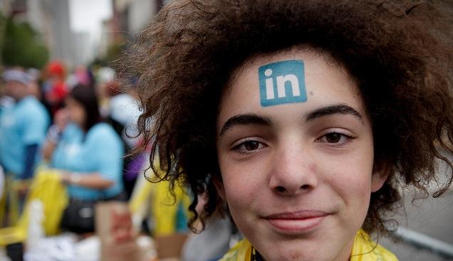 LinkedIn tattoo