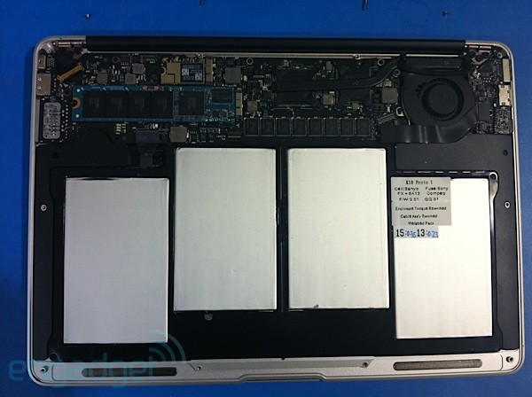 MacBook Air leak