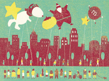 More than 3 million spectators will line city streets for the parade. | Illustration By Jing Wei