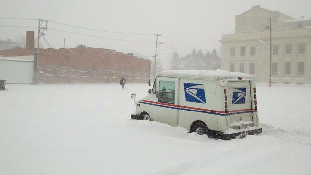 snowbound mail truci