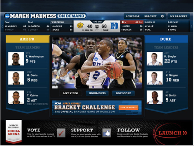 Turner March Madness On Demand