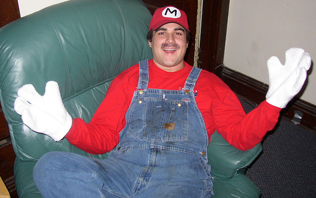 Mario guy by Chuckdawb
