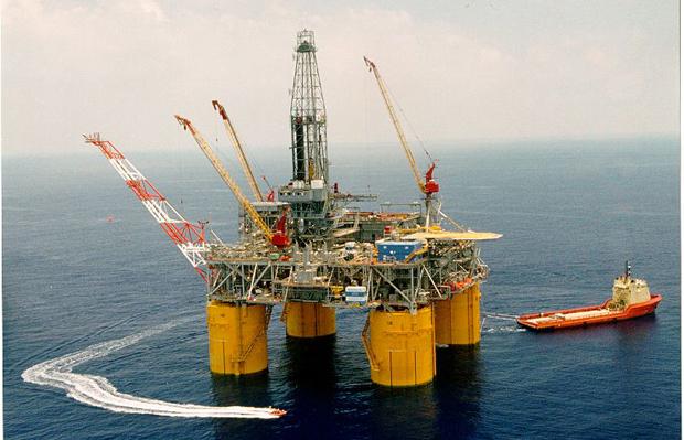 Ursa offshore drilling platform