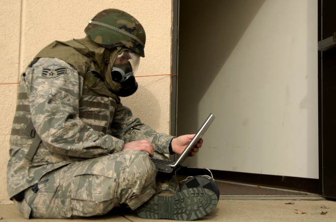 military laptop