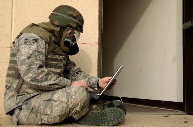 military laptop