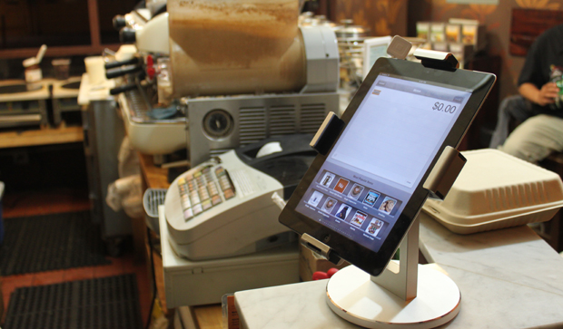 Motek Creperie with Square card reader