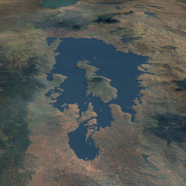 Rwanda's Lake Kivu