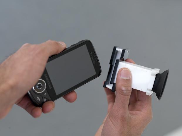 eye scanner iPhone