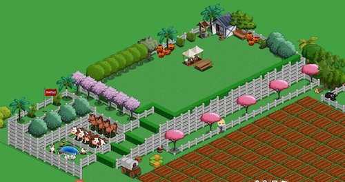 FarmVille layout