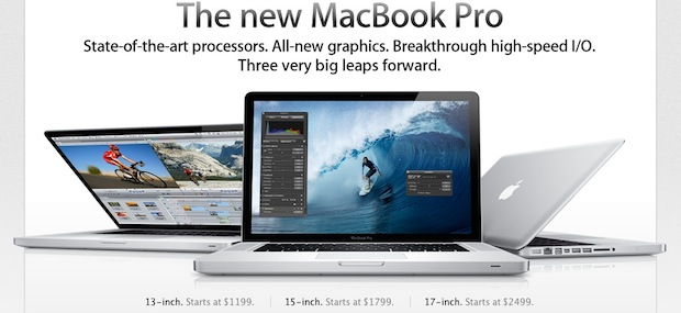 thunderbolt macbook pros