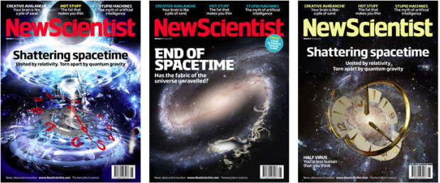 New Scientist magazine covers