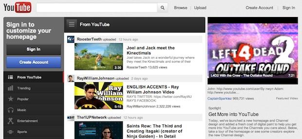 new youtube