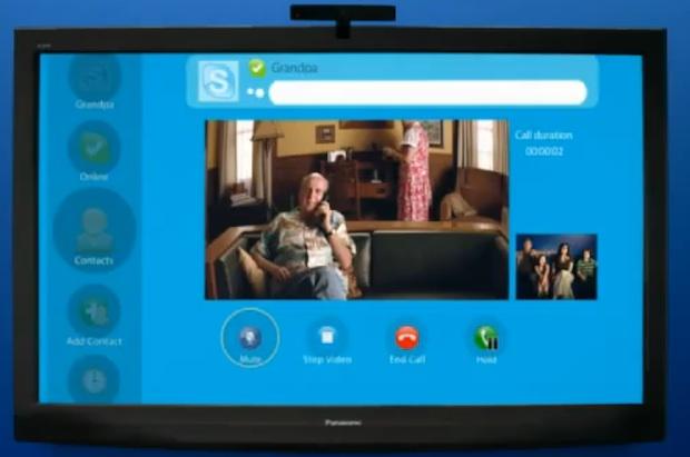 panasonic skype
