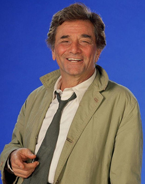 Peter Falk as Colombo