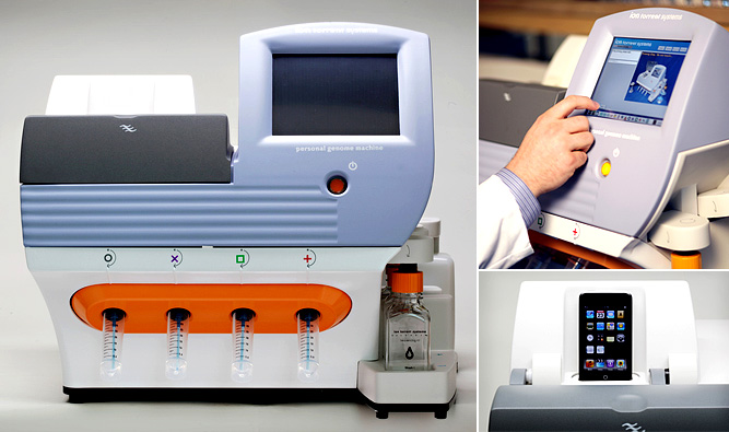 DNA sequencing machine