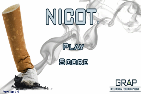 Nicot quit-smoking app