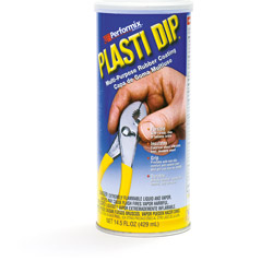 Plasti Dip rubber coating