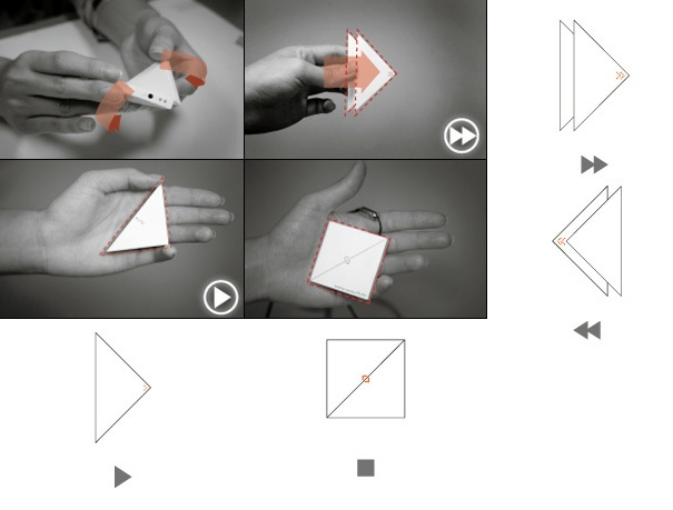Origami MP3 Player