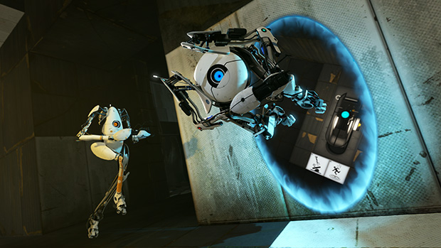 chell and glados relationship