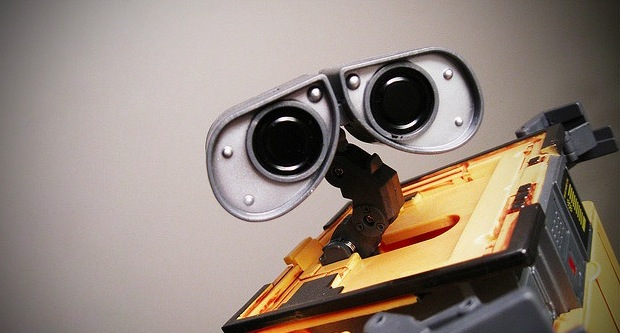robot eyes