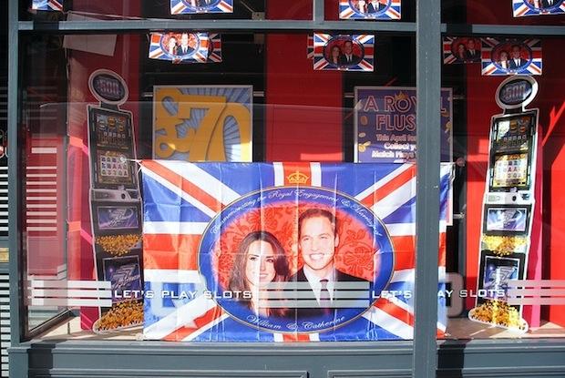 royal wedding paraphernalia