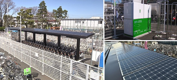 sanyo solar bikes