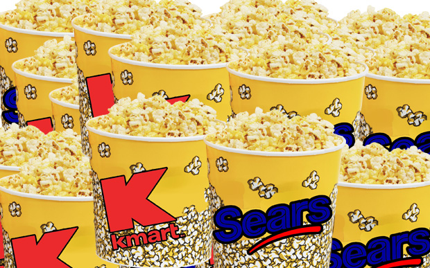 Sears K-Mart movie popcorn