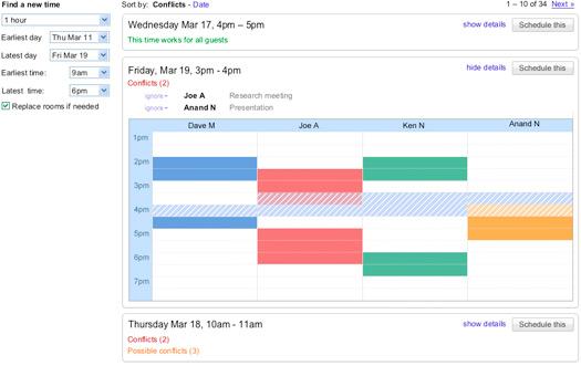 smart rescheduler