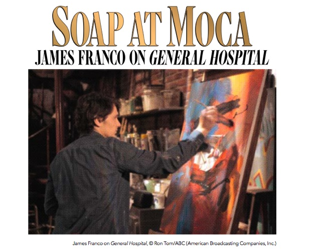 James Franco on General Hospital