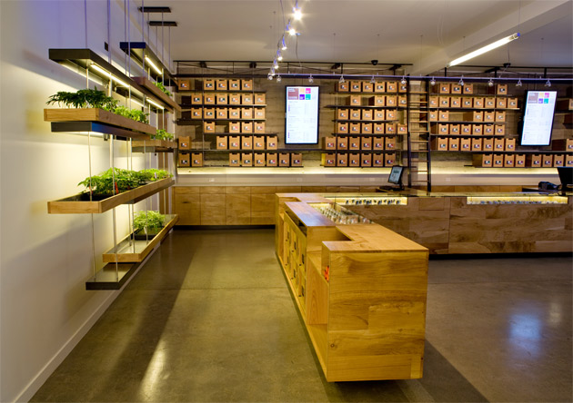 SPARC pot dispensary store interior