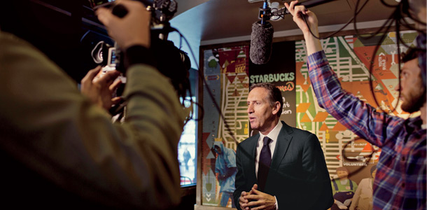 Starbuck's Howard Schultz