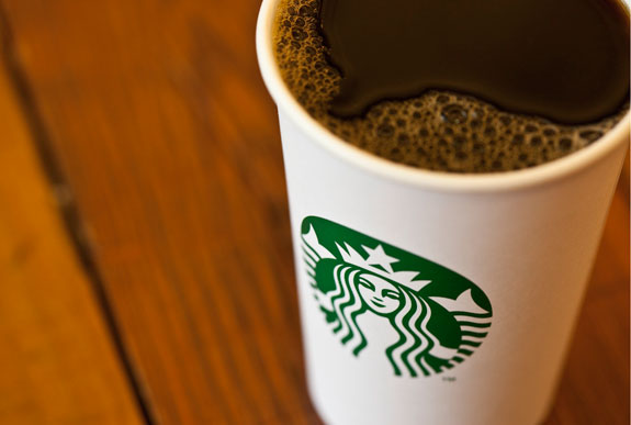 With Eyes on World Expansion, Starbucks Drops Its Name ...