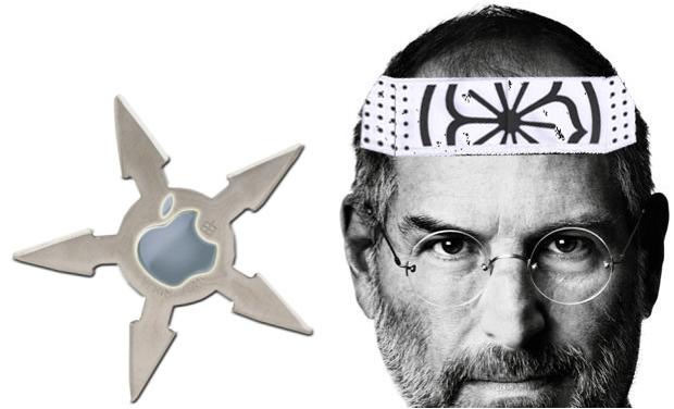Steve Jobs as Ninja