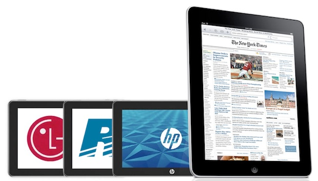 HP Vs. Blackberry Vs. LG: A Tale of Three Tablet Operating Systems