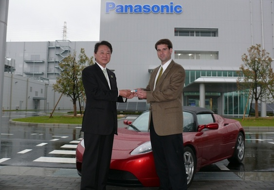 Tesla Panasonic partnership
