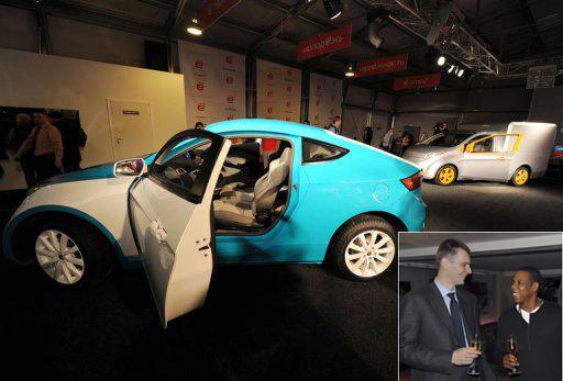 e-mobile Russian hybrid car