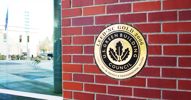 US Green Building Council plaque