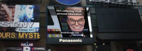 Eric Schmidt Jumbotron