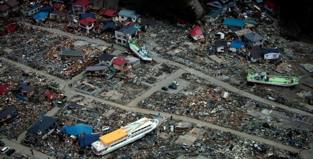 tsunami aftermath
