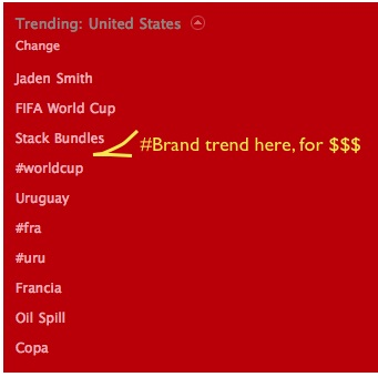 twitter paid trends