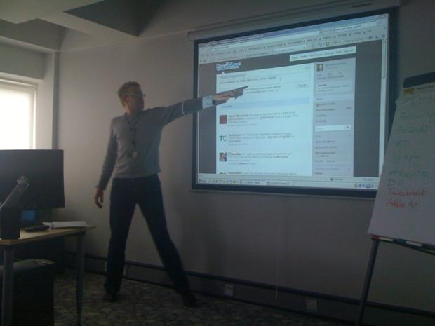 BBC Twitter class