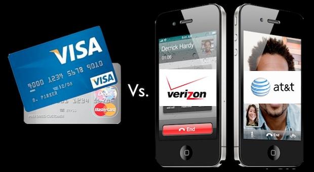 Verizon ATT RFID