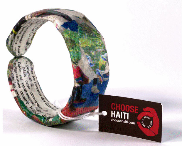 Choose Haiti bracelet