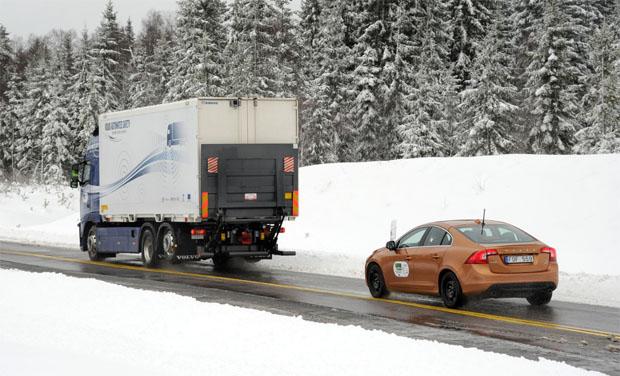 Volvo Sartre autonomous car